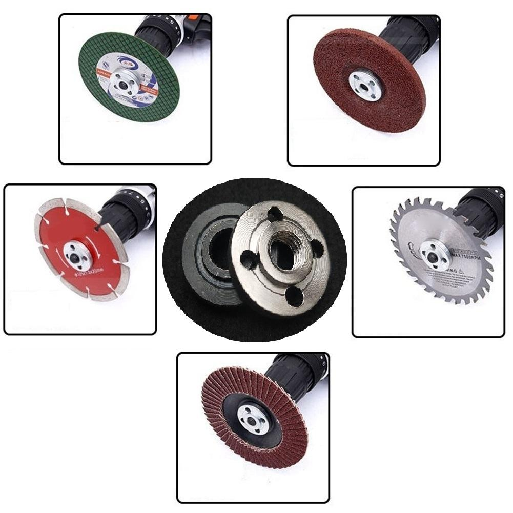 M14 Thread Replacement Angle Grinder Inner Outer Flange Nut Set Tools Hot Sell