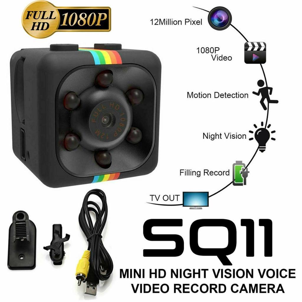 Mini HD 2000TVL IR Überwachungskamera CCTV Sicherheit Webcam Nachtsicht Indoor