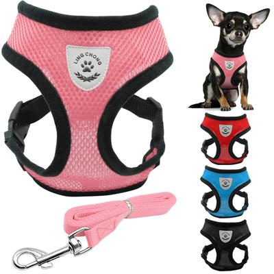 Cat Dog Adjustable Harness Vest Walking Lead Leash for Puppy Dogs Collar Leash Pet Supplies