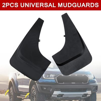 Rubber Car Mudflaps Pair x 2 for Front OR Rear KIA Mud Flaps