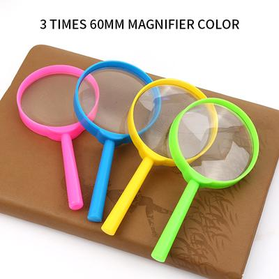 Dozzlor Portable 3X Handheld Reading Magnifier Magnifying Glass for Seniors Kids