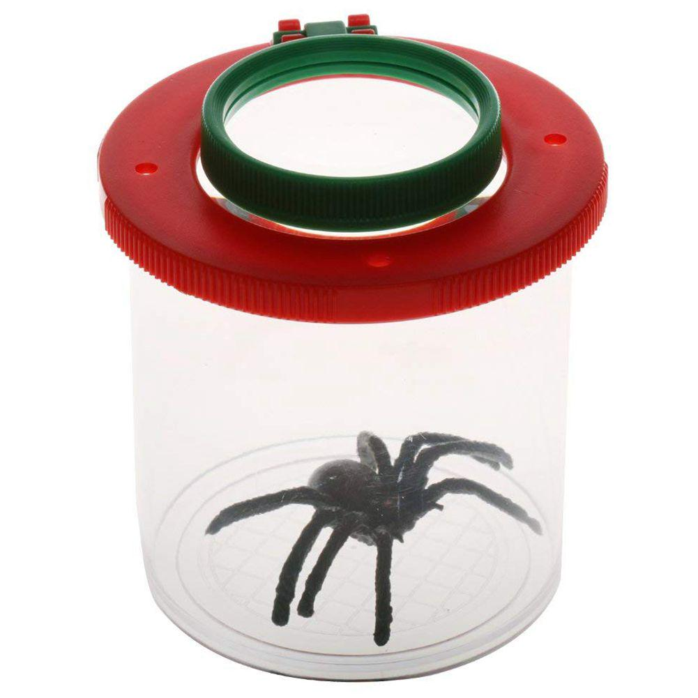 Cheap Price Plastic Bottle Insects Viewer Observation Insects Small Animal Magnifier Glass Cylindrical Spider Educational Toy Learning & Education