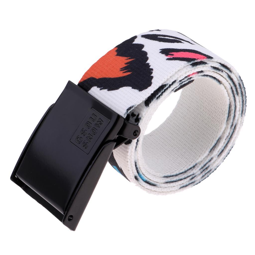 1PCS Baby Kids Durable Useful Unisex 96cm 37.8inch PU Leather Waist Belt Buckle