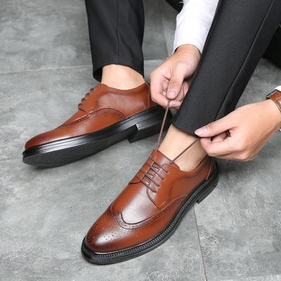 Business Formal Wedding Comfortable Loafers Oxford Mens Fashion Simple Versatile British Casual Shoes