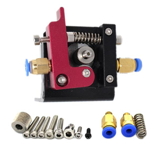 Kit de pi/èces de bloc 1.75mm dextrudeuse dimprimante 3D MK8 3D main droite en aluminium pour Creality CR-10 CR-8 CR-7