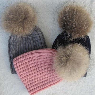 9a2a5a8705c Baby Winter Woolen Crochet Hat · 4.8Price  8 · Lovely Kids Baby Warm Winter  Knit Raccoon Fur Pom Bobble Hat Crochet Ski Caps