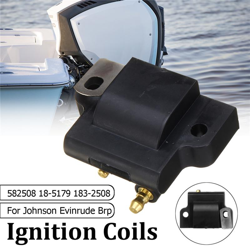 For 582508 18-5179 183-2508 For Johnson Evinrude Outboard Engine Ignition Coil