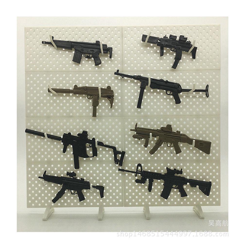 Échelle 1//6 jouet carabine-M4 Colt Commando SBR fusil avec Suppresseur TYPE 2
