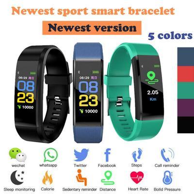 Y5 Color Screen Smart Heart Rate Monitor Blood Pressure Wrist Watch Intelligent Bracelet Wristband