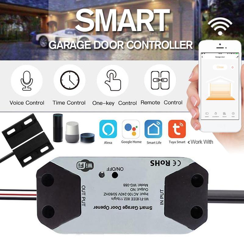 Buy Smart Wifi Switch Car Garage Door Opener Remote App Controller At Affordable Prices Free Shipping Real Reviews With Photos Joom