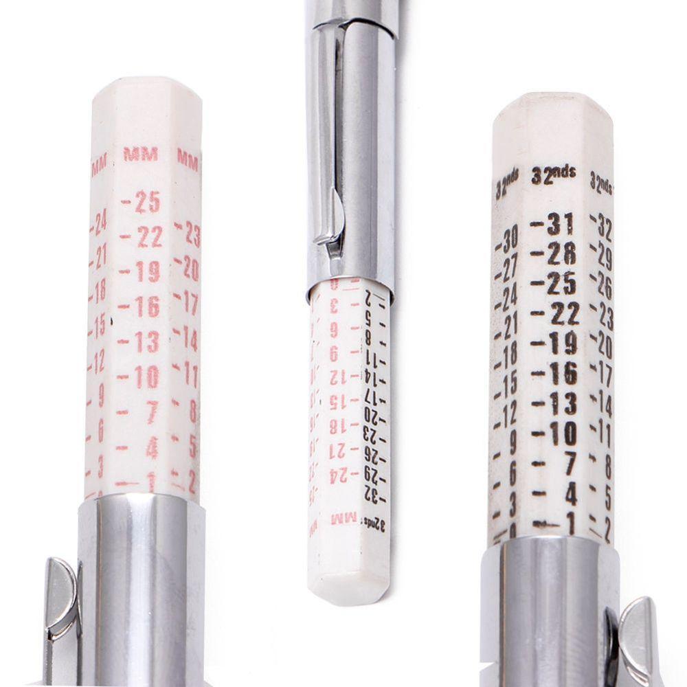 25mm Auto herramienta métrica estándar neumático pisada profundidad ...
