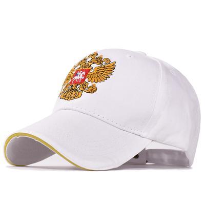 4c484994266 Russian Double Headed Eagle Embroidery Baseball Cap Cotton Men women Caps  Peaked Cap Snapback Hats
