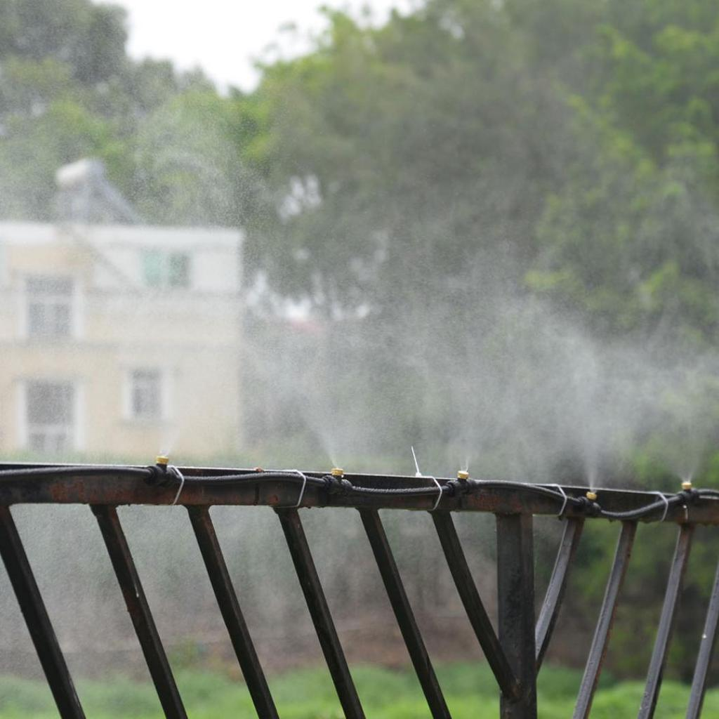 Outdoor Water Sprinkler Garden Mister Cooling Patio Misting System Spray Set-8M