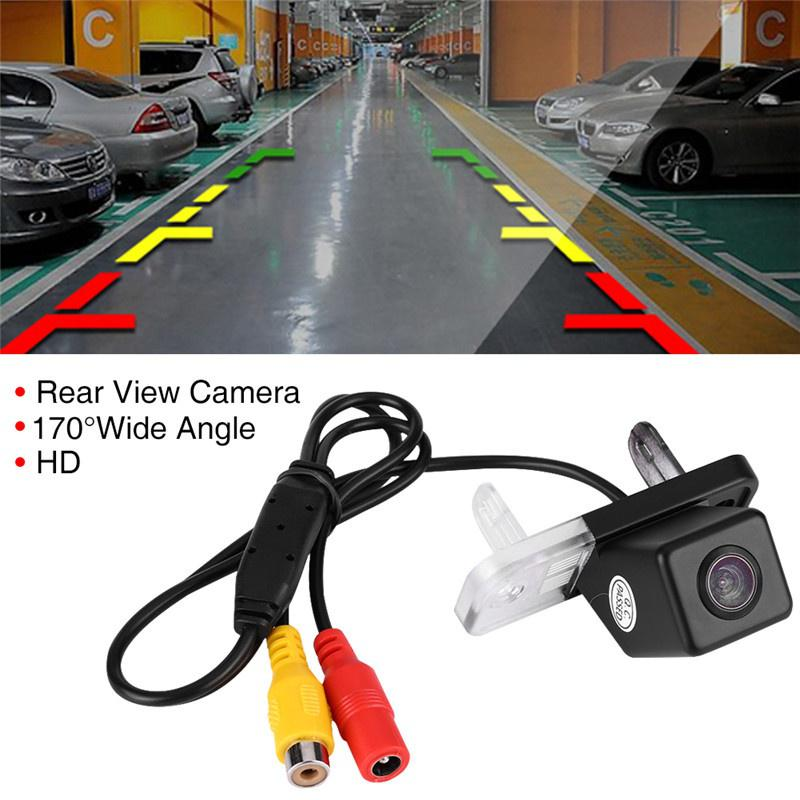 170 Degree Car Rear View Reverse Parking Camera 12V Waterproof Night Vision Waterproof Reverse Auto Back Up Car Camera for Merce/_des Ben/_z C-Class E CLS W203 W211 W219