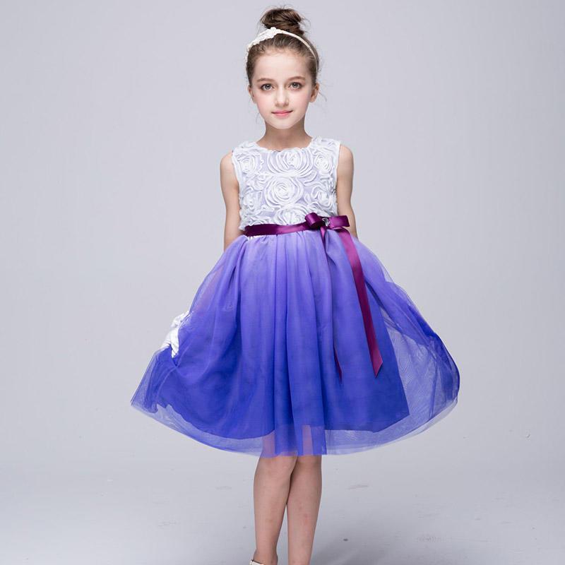 Chica arco burbuja falda niños princesa fiesta bebé hilado neto ...