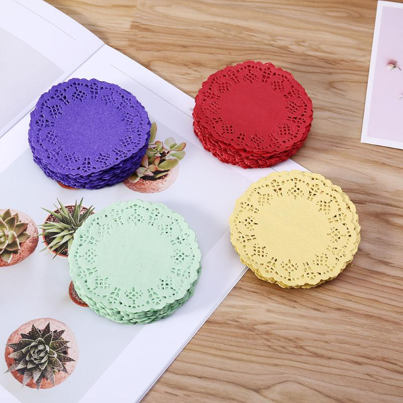 1//4 Pcs Felt Placemat Wedding Party Decoration Table Mat Insulation Coaster Pad