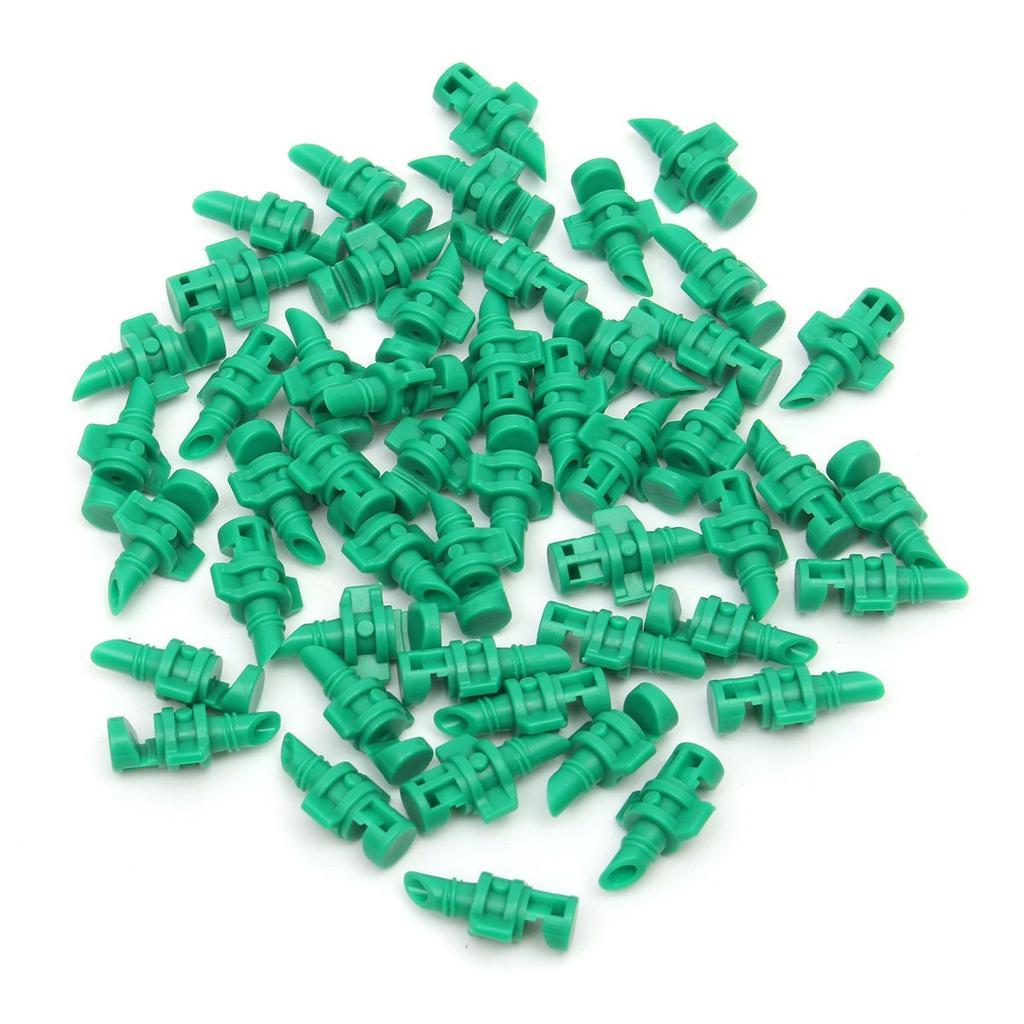 Plastik Düse Grün Zubehör Gewächshaus Bewässerung Mikro Garten Rasen Wasser