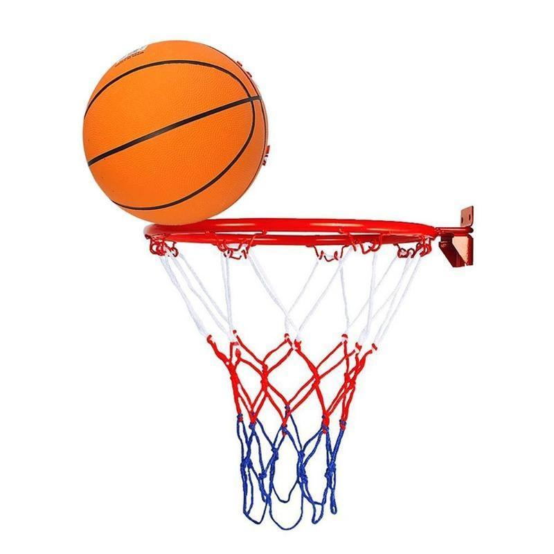Hanging Basketball Netball hoop Set Indoor//Outdoor Adult Basketball Board Sports