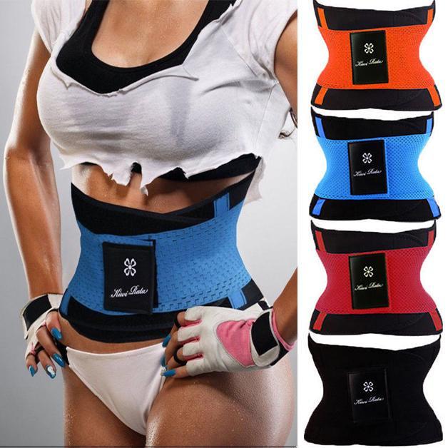 Bovake Waist Cinchers Women Control Bodyshaper Ladies Breathable Waist Tummy Girdle Belt Sport Body Shaper Trainer Control Corset Shapewear