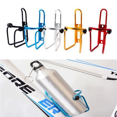 Mini Aluminum Water Bottle Bike Cycling Bicycle Outdoor Bolt Coffee Drink Holder