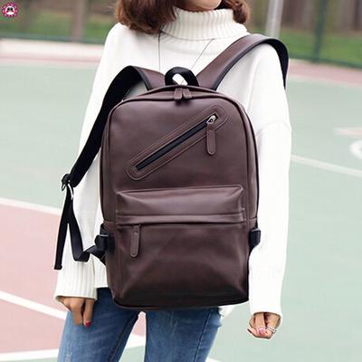 d825979e51ec Сумка рюкзак женщин мужчины нейтральных кожаный рюкзак ноутбук сумка  путешествия школа