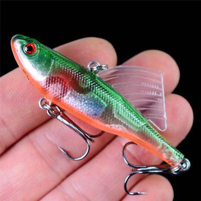 New 14.5cm//41.8g Fishing Bait Lure 1//0# Hook VIB Pencil Crankbaits Spinner