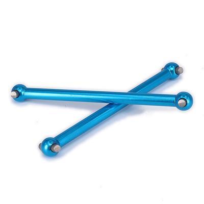 Durable SCX-10 Timonerie de direction Tie rod Argent en Alliage d/'Aluminium RC 1:10 Pièces