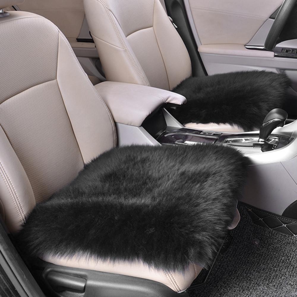 Чехол на сиденье из овчины, шерстяная подушка для автомобильного сиденья, 18x18 дюймов, зимние мягкие теплые чехлы на передние сиденья для дома купить недорого — выгодные цены, бесплатная доставка, реальные отзывы с фото — Joom