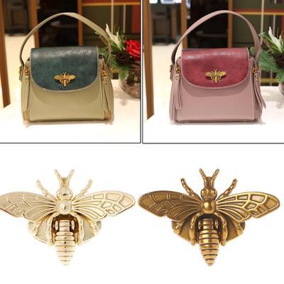 2a1d94052859 Пчела форма застежка очередь блокировки метизы для DIY сумочка Кошелек сумка