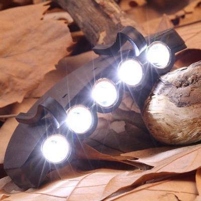 5 Led Clip Cap Lamp Brim Lamp Cap Lamp Fishing Head Lamp Night Fishing Light