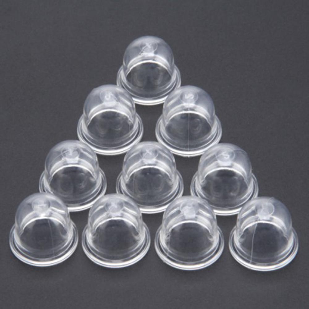 Kraftstoffpumpe Vergaser Primer Bulb für Kettensägen Trimmer Freischneider klar