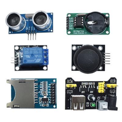 45pcs Sensor Kit Learning Kit Sensors Modules For Arduino R3 Raspberry Pi MCU