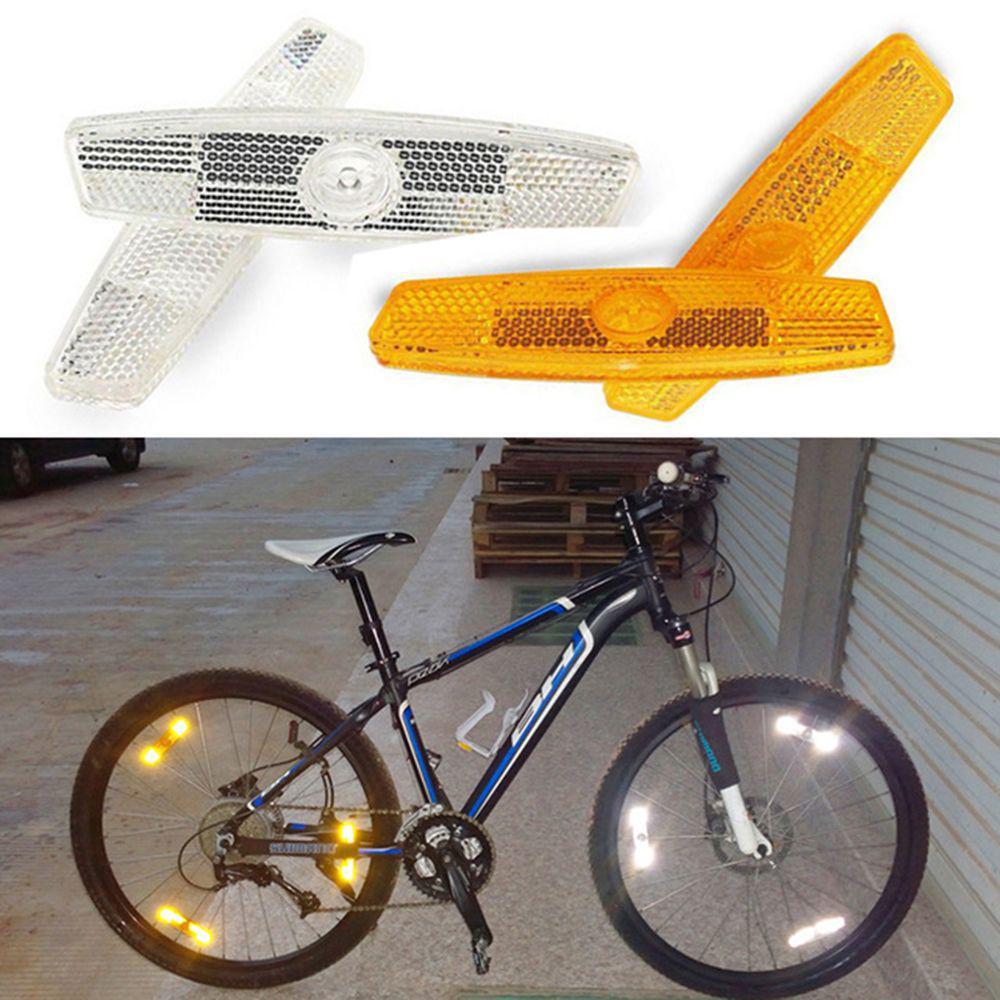 1Pair bicycle spoke reflector warning light bicycle wheel rim reflective BB
