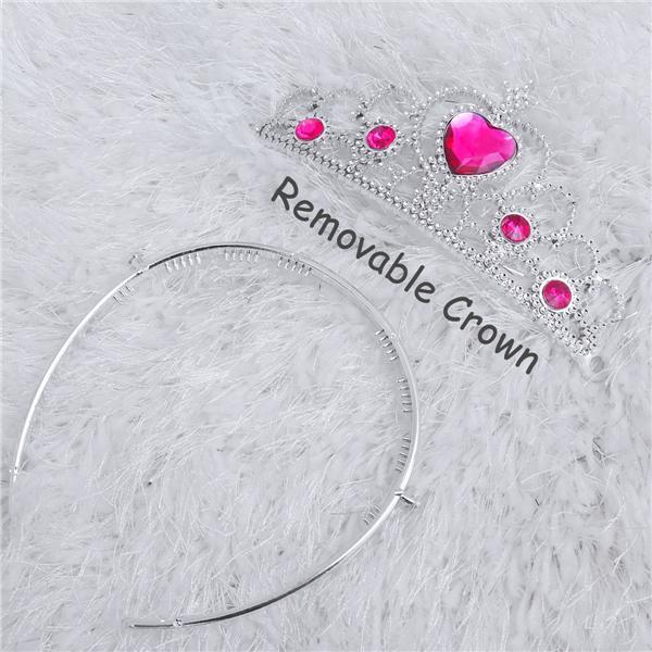 TOYMYTOY 5PCS Princess Crown Dress up Headdress for Kids Girls Children