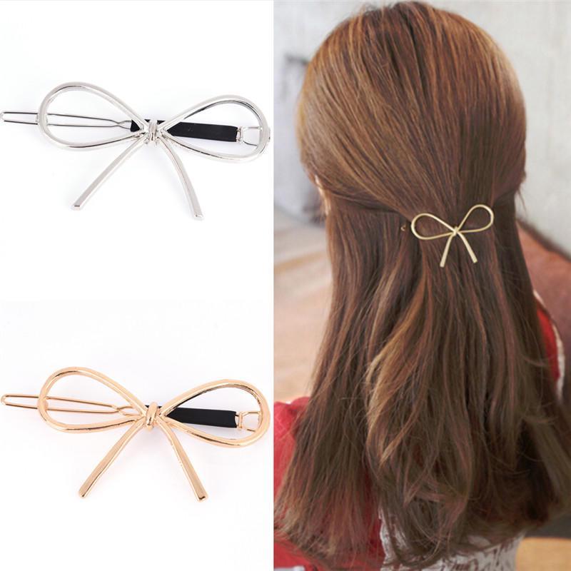 Старинные шпильки металлические лук узел заколки девочек женщин волосы Аксессуары для волос фото