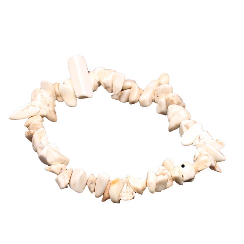 adjustable gemstone bracelets waterproof Gemstone chip bracelets
