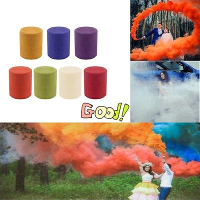 10pcs Exhibition Drama Smoke Bomb Smoke Cake White Smoke Effect Film