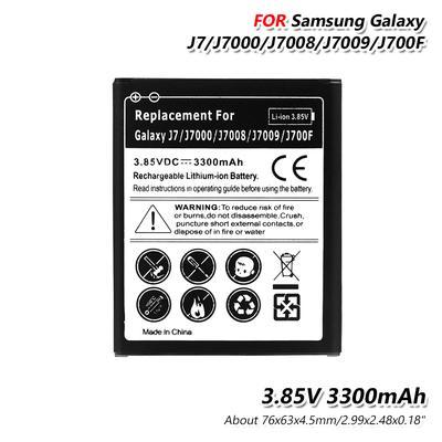 Общие 3 85V 3300mah Литий батареи для Samsung Галактика J7 J7J700 J7008  J7009 J700P