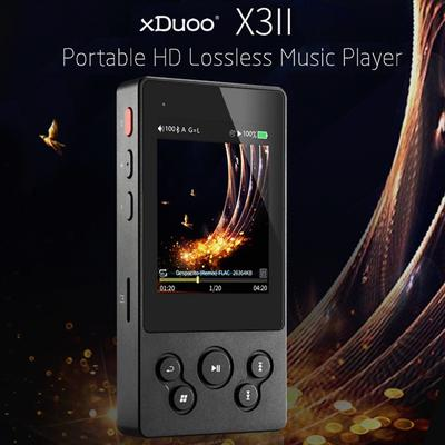 NEW 2.4/'/' XDUOO X20 DC 5V Lossless Digital Music Player BT HiFi MP3 Player TF SD
