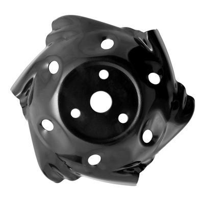 2pcs Segadora Tri/ángulo Handle Knob tornillo tuerca tornillo de la manija de piezas de reemplazo Jard/ín Accesorios para herramientas para el c/ésped de la m/áquina cortac/éspedes c/ésped negro