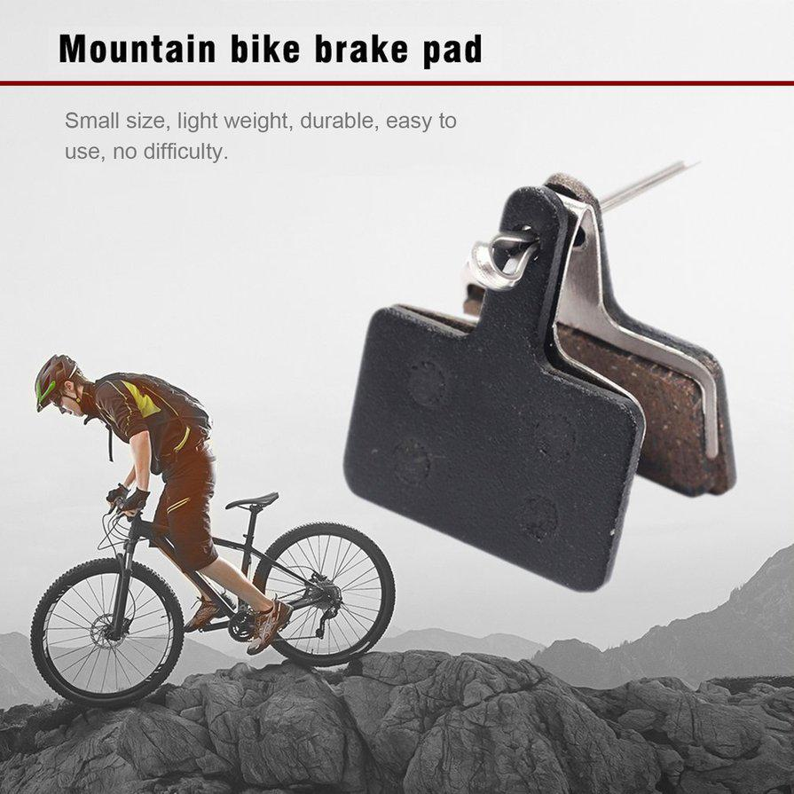 Bicycle Bike Disc Brake Pads Semi-Metallic Bicycle Resin for Shimano 1//2//4 Pairs