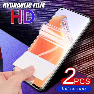 2Pcs HD Protective Hydraulic Film Soft Hydraulic Ultra-thin Screen Protector For iPhone Samsung Huawei Xiaomi