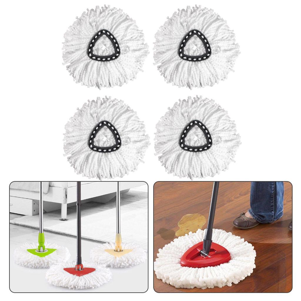 Replacement Head Easy Home Cleaning Mopping Wring Spin Mop Refill For O-Cedar
