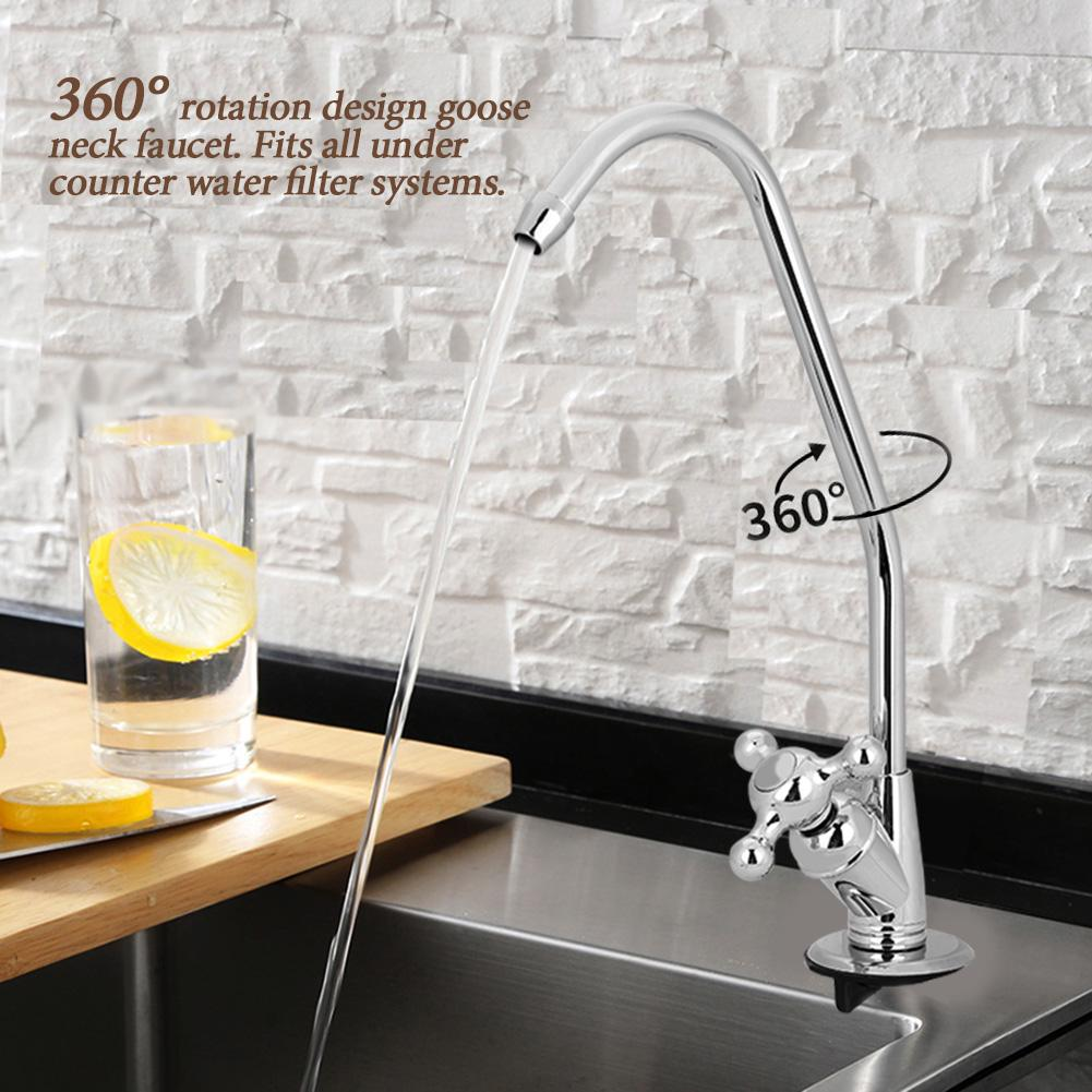 Buy 1 4 Zinc Alloy Kitchen Basin Sink Faucet Tap Chrome Reverse Osmosis Ro Drinking Water Filter At Affordable Prices Price 9 Usd Free Shipping Real Reviews With Photos Joom