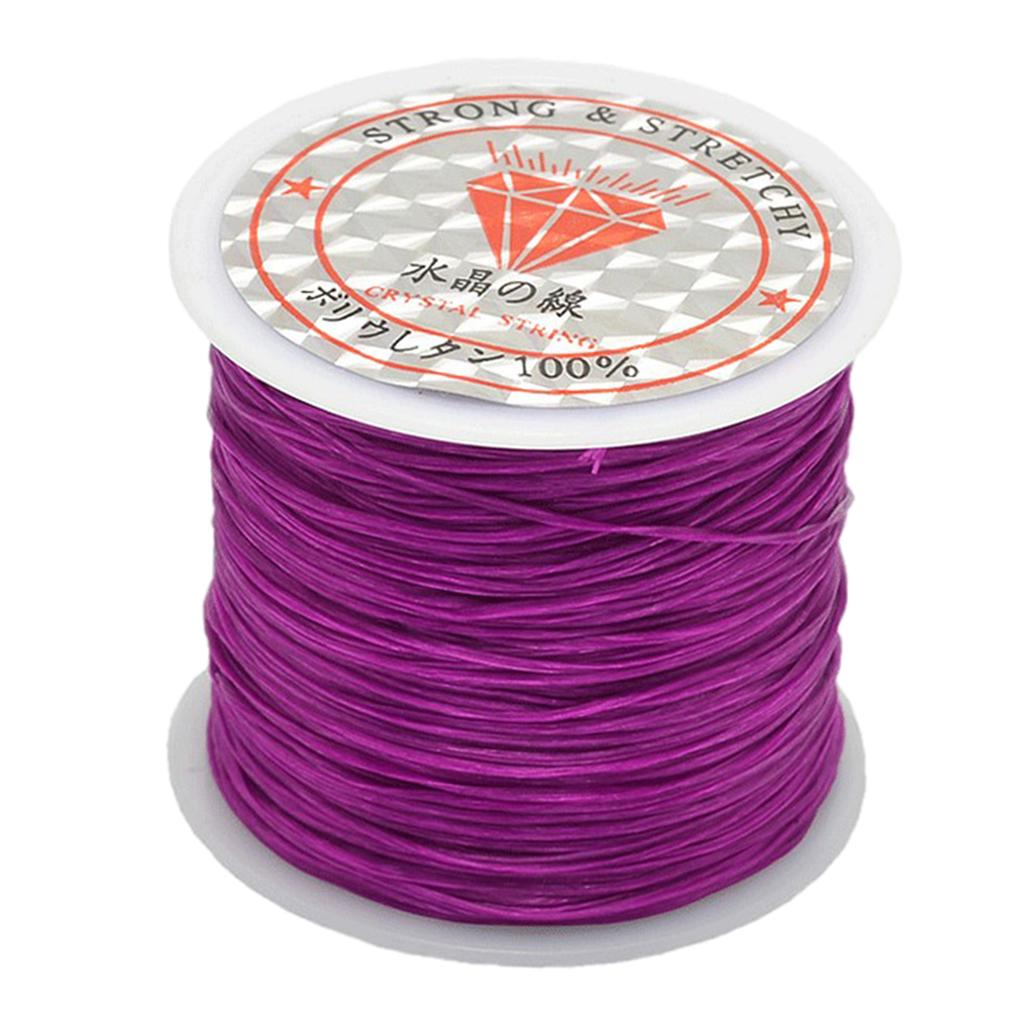 5 Rolls Strong Stretchy Elastic  Thread Cord String Bracelet Beading Wire