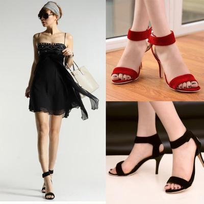 6b8d18b0244ca sale Women Classic Dancing Heel Sandals Sexy Stiletto Party Shoe Casual  wedding shoes PA00490