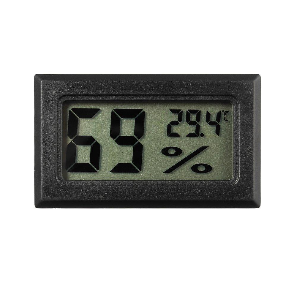 Brand New Maximum Minimum Indoor Thermometer Mini Temperature Humidity Meter