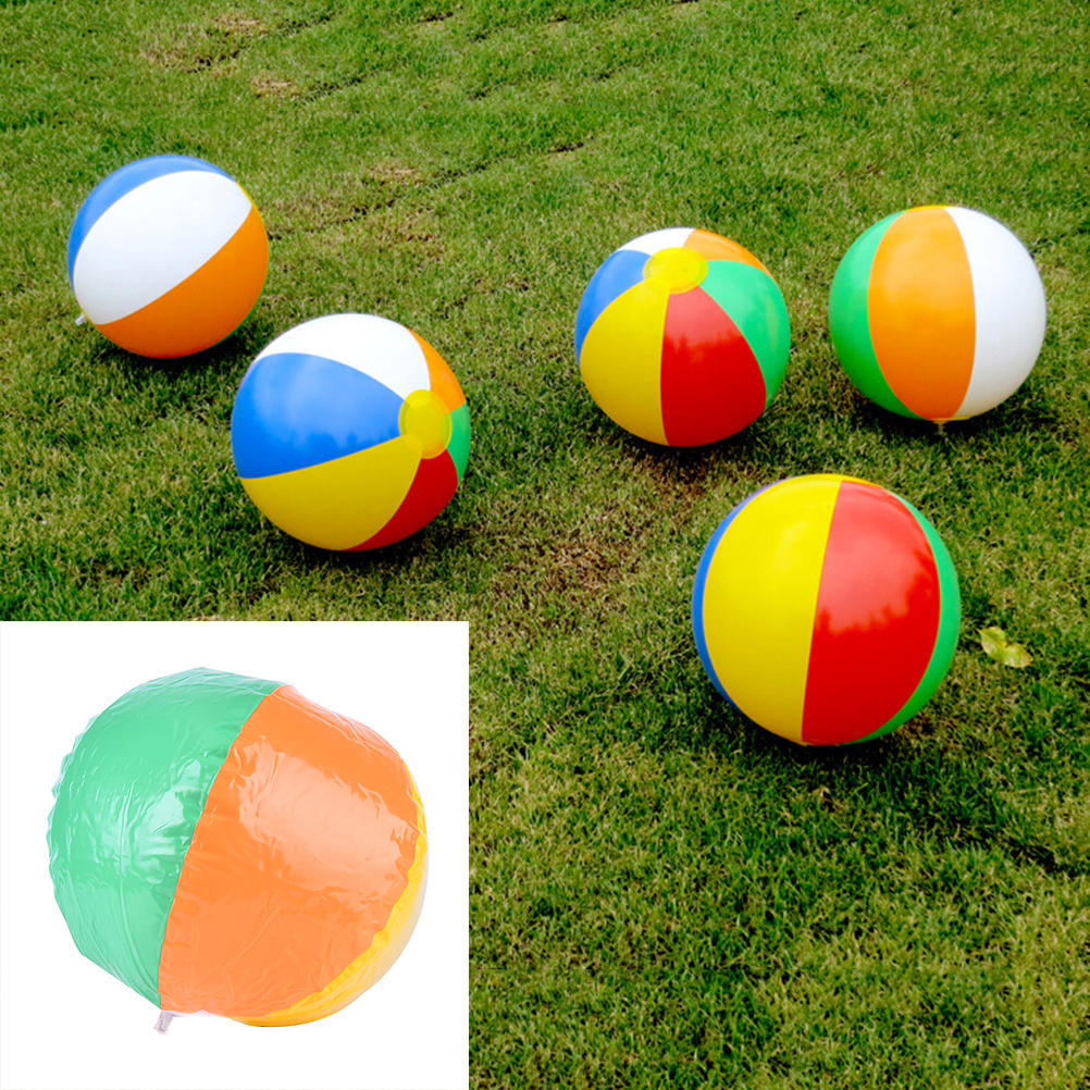 Clever New Toy Kids 16cm Holiday Pool Party Swimming Garden Football Basketball Beach Ball Game Toy Inflatable Rubber Ball Basketballs