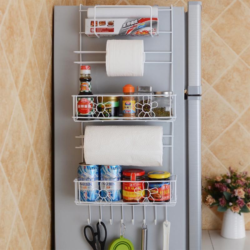 Kitchen Storage Hanger Refrigerator, Kitchen Cabinet Shelves Holders