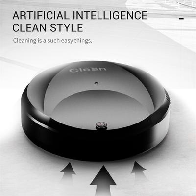 Rechargeable Automatic Smart Robot Vacuum Cleaner Cleaning Suction Slim Sweeper